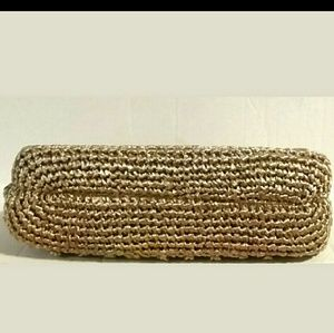 Bags - Vintage Raffia Straw Handbag
